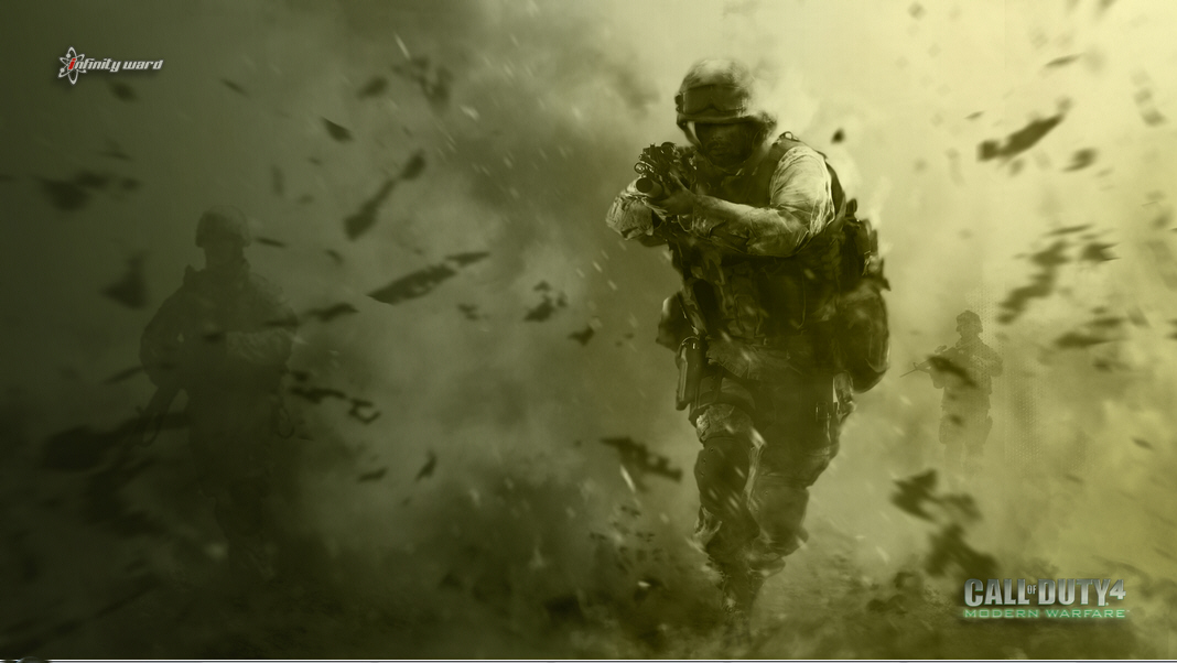 call of duty 4 modern warfare logo. Call of Duty Modern Warfare 2